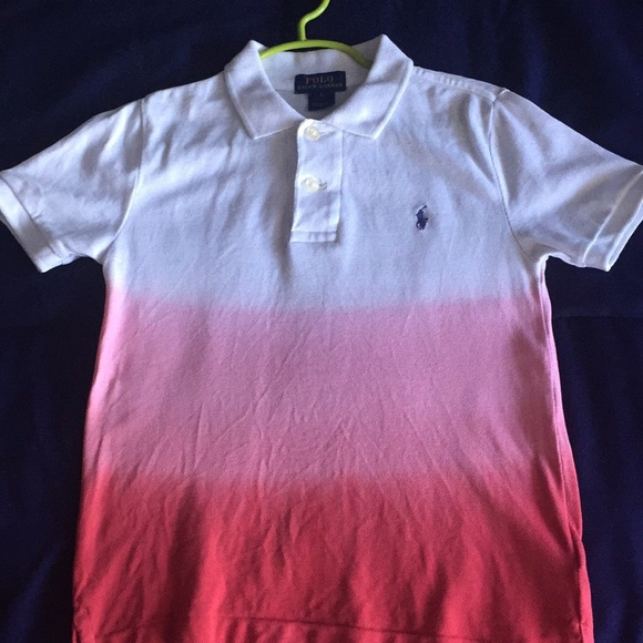 72ccf6bd Toddler Dip-Dyed Mesh Cotton Polo Ralph Lauren-5. M_5ae1bceb45b30cb1778501d4